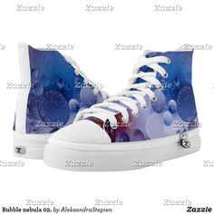 Bubble nebula 02. High-Top sneakers Santa Fe Springs, Circlet, Custom Sneakers, On Shoes, Converse Chuck Taylor, High Tops, High Top Sneakers, Bubbles, Pairs