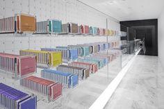 Nendo, shop interior for chocolate maker BbyB