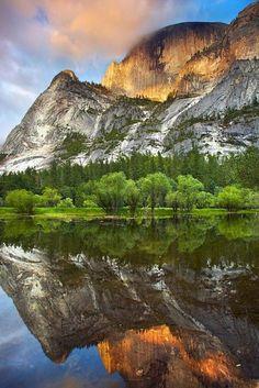 Mirror Lake, PArque Nacional de Yosemite