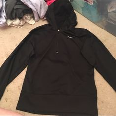 BRAND NEW nike sweatshirt (zipper in front) never worn Nike sweatshirt. super comfy, great for working out or hanging out. price negotiable Nike Tops Sweatshirts & Hoodies