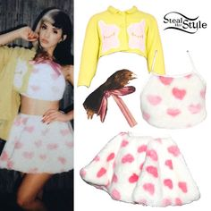 Melanie Martinez's Clothes & Outfits | Steal Her Style