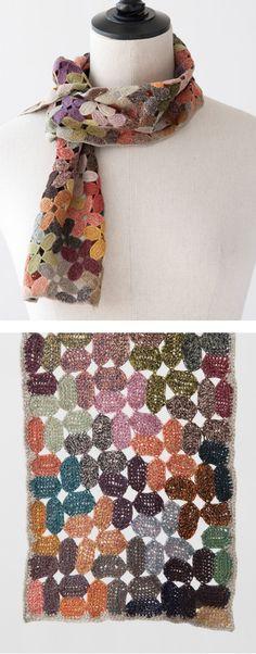 Hermoso diseño de Sophie Digard #Bufandas