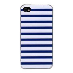 Coque iPhone 4/4S Marinière bleue par The Phone Dressing