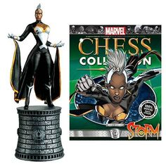 Marvel X-Men Storm White Bishop Chess Piece with Collector Magazine -- You can find more details by visiting the image link.