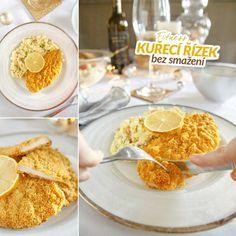 Fitness kuřecí řízky bez smažení - zdravý recept Bajola