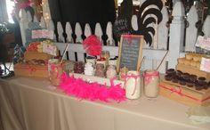 cupcake bar, chefs market, best nashville wedding food