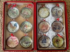 12 Days of Christmas ornaments | Christmas time | Pinterest | 12 ...