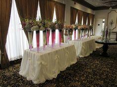 Wedding reception table design done through WEDS by Mega City #wedding #decor #reception