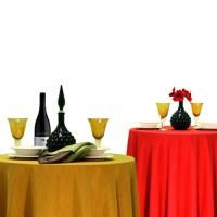 Delightful Majestic Damask Tablecloths Available In 20 Colors. No Iron Finish, Machine  Wash.