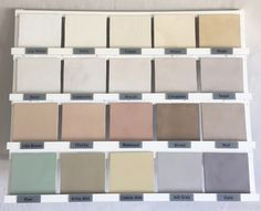 Colour Range - Coastal Crete Flooring