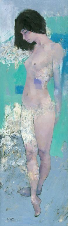 "Saatchi Online Artist: Stephen Mitchell; Acrylic, 2012, Painting ""Rain"""