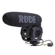 Rode Video Mic Pro Compact Shotgun Microphone Product Features Rugged, compact and versatile Small shot gun microphone that provides great video sound for cameras with a lighting shoe mount and external microphone input Switchable sensitivity for long and short distances Switchable wind noise filter Approximately 70 hrs operating time (from a single 9V battery)