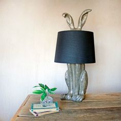 Kitsch Homeware | Maybe it's because it was just Easter, maybe it's because of the recent film adaptation of Peter Rabbit, or maybe it's because everyone needs a little kitsch in their life, but either way, this bunny table lamp is hard not to love. Even the most tasteful and minimal decor has room for something that is uniquely designed and full of personality.