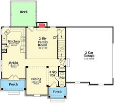 Plan 75566GB: 3 Bed Traditional With Master Sitting Area