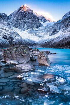 """""""Lyngen Alps"""" by Jon-Eirik Boholm - #fstoppers #Landscape #Norway #tromso #glacier"""