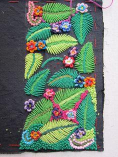 Bordado incrível | Very impressive embroidery | Stitch and Embroidery | Inspiration