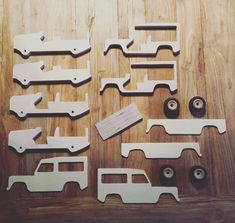 Free plans of this Land Rover Defender toy car are available on my website! - - Free plans of this Land Rover Defender toy car are available on my website! Free plans of this Land Rover Defender toy car are available on my website! Awesome Woodworking Ideas, Best Woodworking Tools, Woodworking Organization, Woodworking Furniture, Woodworking Crafts, Woodworking Beginner, Woodworking Classes, Wooden Toy Trucks, Wooden Toys
