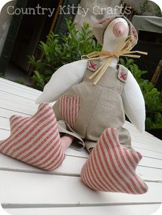 Tilda goose by countrykitty, via Flickr
