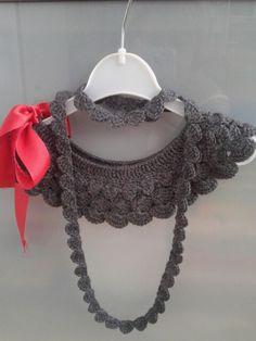 "Cuello ""gris"" : crochet by milunar"