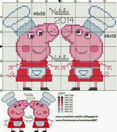 Peppa Pig cozinheira