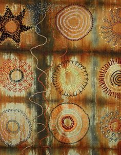 detail of Traveller's Blanket by Dijanne Cevaal