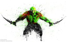 After seeing Guardians of the Galaxy last night I was completely motivated to finish this one! Drax is an awesome character and I really hope he gets to. Drax the Destroyer Marvel Fan, Marvel Comics, Marvel Heroes, Gi Joe, Hulk Movie, Drax The Destroyer, Incredible Hulk, Photo Wallpaper, Guardians Of The Galaxy