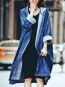Fashionmia hooded trench coats - Fashionmia.com
