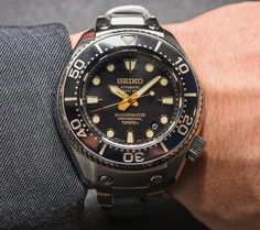 Seiko Marinemaster Professional 1,000M Diver's Hi-Beat Limited Edition SBEX001 Watch Hands-On