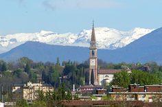 Where I'll be live for three months. September through December 0f 2011. Montebelluna, Italia!!!!