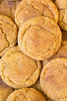 Pumpkin Snickerdoodles - soft, chewy and completely delicious! Snickerdoodles – soft, chewy and completely delicious! Pumpkin Snickerdoodles – soft, chewy and completely… - Fall Recipes, Holiday Recipes, Fall Dessert Recipes, Fall Cookie Recipes, Pumpkin Puree Recipes, Soup Recipes, Worlds Best Cookies, Pumpkin Snickerdoodles, Patisserie