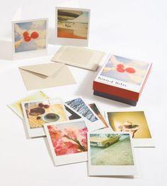 polaroid notecards