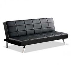 Black Converta Sofa with Contr