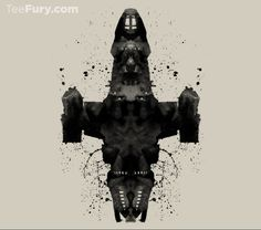 """Shiny Rorschach Ship"" by geekchic_tees is on #TeeFury!"