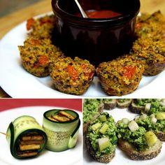 healthy appetizers | 17 Healthy #glutenfree appetizers via @POPSUGAR Fitness