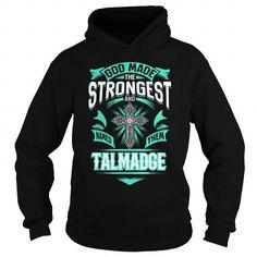 I Love TALMADGE TALMADGEYEAR TALMADGEBIRTHDAY TALMADGEHOODIE TALMADGE NAME TALMADGEHOODIES  TSHIRT FOR YOU Shirts & Tees