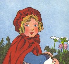 lot paper ephemera Little RED RIDING HOOD picture Vintage Childrens Book Illustrations . book pages . wolf . grandma . fairy tale . wall art by MoreLooseEnds on Etsy https://www.etsy.com/listing/21083526/lot-paper-ephemera-little-red-riding