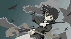 Kino trong Kino no Tabi Kino's Journey, Netflix Anime, Mystical World, Mary Sue, Anime Hair, Anime People, Manga Games, I Love Anime, Anime Outfits