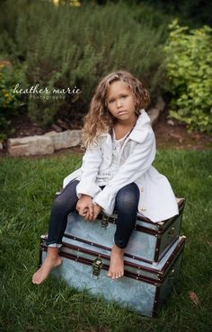 Beautiful shot! She is one of the most gorgeous little girls I have ever seen!