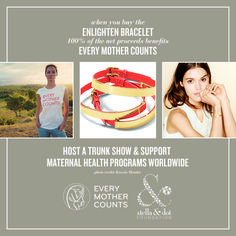 The Enlighten Bracelet $39. All proceeds benefit Every Mother Counts http://www.stelladot.com/sites/ejwhite