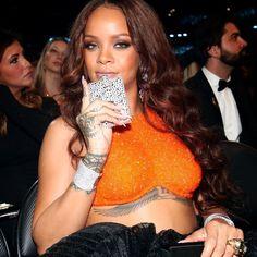 Rihanna Flask Fashion Style Hair Inspiration