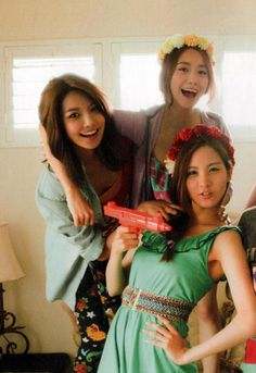 Girls' Generation Yoona, Sooyoung, Seohyun