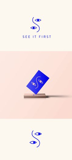 See It First on Behance #logo #graphicdesign