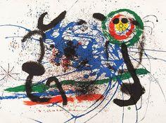 """Joan Miró Litografía """"L'Amazone"""" Año: 1964 Dimensiones: 61 x 89.8 cm Tirada 75 ejemplares Numerada y firmada a mano Mourlot 325 Certificada por la Fundació Joan Miró Enmarcada con cristal museo Precio: Consultar Web  Web: www.grabadosylitografias.com Más información y consultas: galeria@grabadosylitografias.com"""