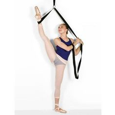 """Particularly designed for young dancers, the I-Flex Jr Dance Stretch Unit easily slips over any door and allows you to safely stretch through a complete range of ballet motions with correct positioning. Features a double handle strap for ease and control and is much lighter than the original I-Flex."""