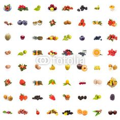 New stock photos collage available for sale at Fotolia: Collage Frutta/Collage Fruits