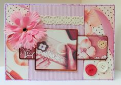 A5 card made by Sue Dinsdale using Kanban Hobbies and Interests Collection