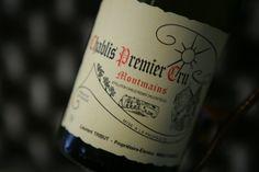 """Chablis 1er Cru """"Montmains"""" 2007 Domaine François Raveneau. Vin blanc de…"""