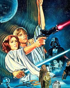 """Did you know that the Luke and Leia """"swing"""" scene from Star Wars was shot in just one take? #starwars"""