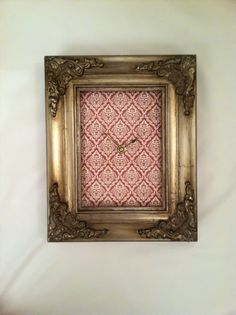 Recycled Frame Clock by KlockedInDallas on Etsy, $30.00