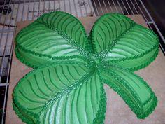 Shamrock Cake by The-EvIl-Plankton.deviantart.com on @deviantART